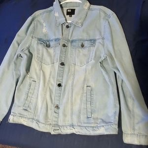 RSQ tilly's ripped Jean jacket